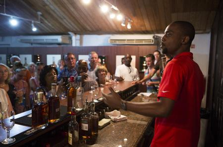 Harrison's Cave and Mount Gay Rum Including Rum Tasting and Cocktails