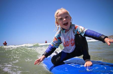 San Diego Kids Surf Lessons