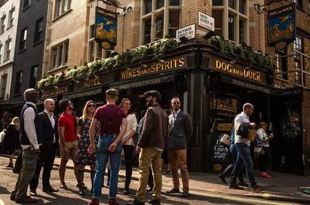 Small-Group Soho Legends and Pub Walking Tour