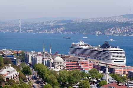 Istanbul Port Departure Transfer: Central Istanbul to Cruise Port