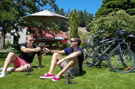 Gibbston Valley Bike Ride with Winery Cave Tour and Lunch