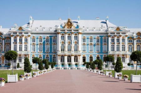 Tour of Pushkin (Tsarskoye Selo) and Catherine Palace