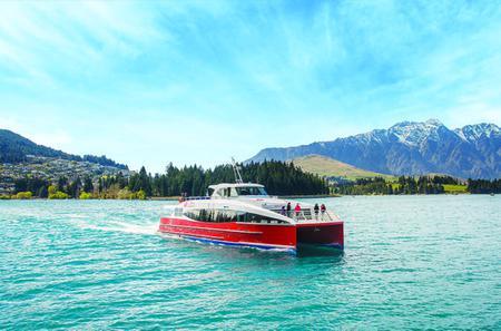 Lake Wakatipu Catamaran Cruise from Queenstown