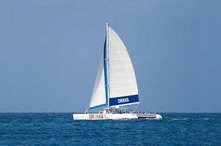 Jamaica Catamaran Cruise to Dunn's River Falls from Ocho Rios or Montego Bay