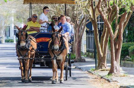 Evening Carriage Tour of Downtown Charleston
