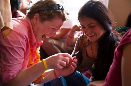 Half-Day Kathmandu Handicraft Workshop with Seven Women