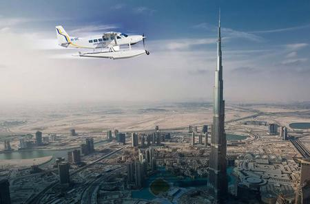 Dubai Seaplane Flight from Abu Dhabi Including Dubai Mall and Return Transfer