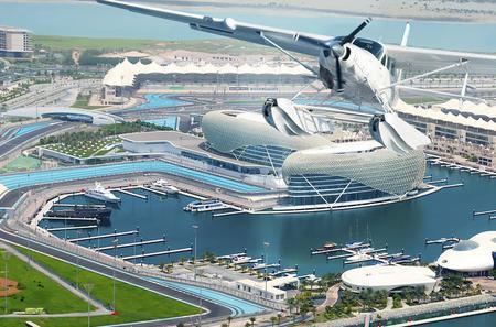 Abu Dhabi Discovery Tour and Seaplane Experience Back to Dubai