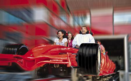 Ferrari World with Return Transfer from Dubai