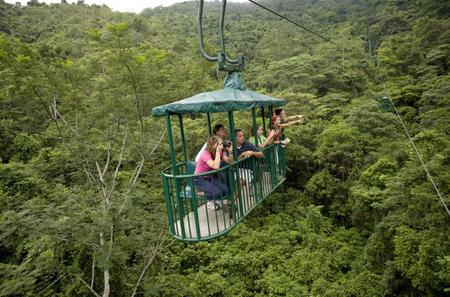Aerial Tram and Zipline Tour from Jaco