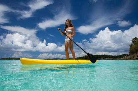 Stand Up Paddleboard Rental in St John