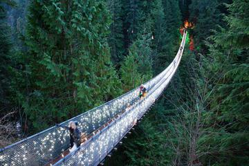 Vancouver City and Capilano Suspension Bridge Canyon Lights Tour