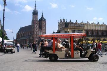 Private Tour: Krakow City Sightseeing by Electric Car With Live Guide