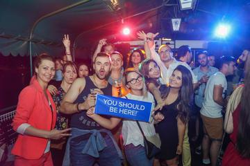Danube River Party Cruise with Optional Pub Crawl from Budapest