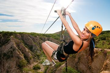 Zipline and Sunset Party Cruise Combo Tour