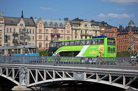 Stockholm Shore Excursion: Stockholm City Hop-On Hop-Off Tour