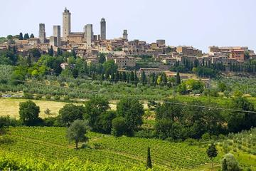 San Gimignano Chianti and Montalcino from Siena