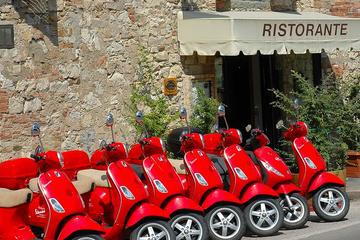 Panoramic Tour of Florence on a Vespa and Free Time in Pisa from Livorno