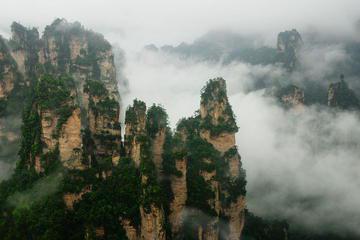 2-Day Zhangjiajie Tour: Tianmen and Tianzi Mountain