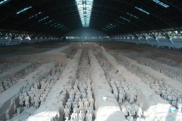 Bus Tour to Terracotta Warriors Museum and Banpo Village with Lunch