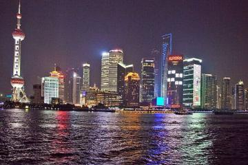 Shanghai By Night: Huangpu River Cruise, Jin Mao Tower Observation Deck and The Bund