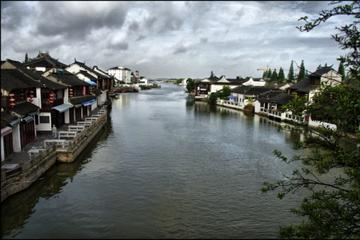 Day Trip from Shanghai to Zhujiajiao Ancient Water Village, Tianzifang and Tea Ceremony