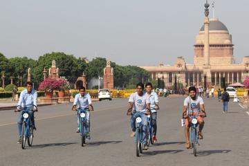 New Delhi Morning Bicycle Tour
