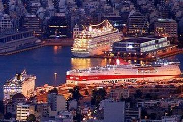 Central Athens to Piraeus Port Shuttle Bus Service