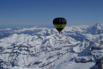 Hot Air Balloon Flight over Piedmont from Turin
