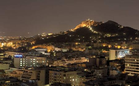 Athens Night Tour with Dinner and Folklore Show