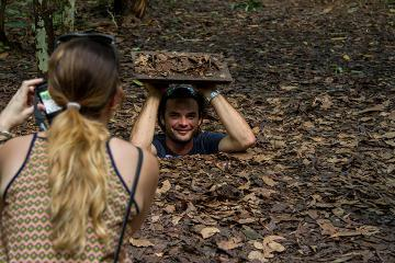 Historical Tour including Cu Chi Tunnels from Ho Chi Minh City