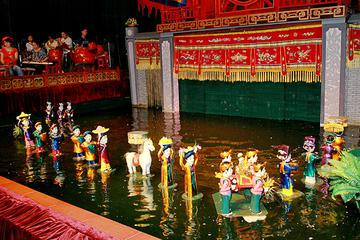 Hanoi Water Puppet Show with Dinner