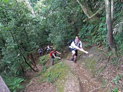 Hiking to Christ Redeemer Statue and Corcovado Mountain through Tijuca National Park