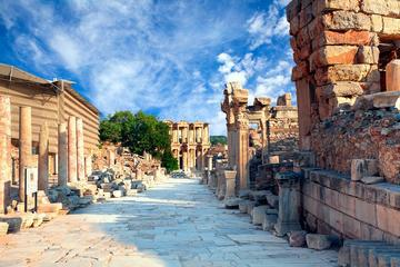 Private Full-Day Shore Excursion: Ancient Ephesus, Terrace Houses, Virgin Mary and St John Basilica