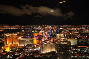 Las Vegas Strip Helicopter Flight at Twilight