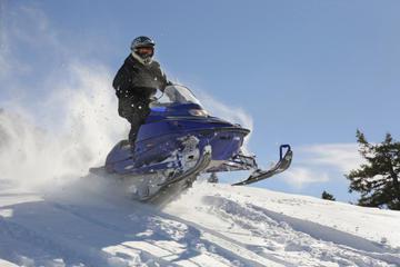 Lapland Lyngen Alps Snowmobile Safari from Tromso