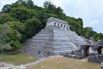 Palenque Archaelogical Site, Agua Azul and Misolha Waterfalls from Tuxtla Gutierrez