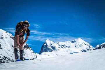 Small-Group Andes Mountains Snowshoeing Hiking Tour from Santiago
