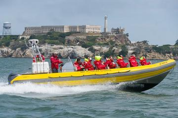 Alcatraz and San Francisco Bay Sightseeing RIB Boat Cruise