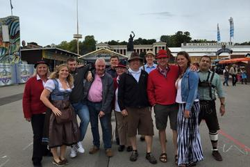 An Evening at Oktoberfest at the Hofbrau Tent Including Dinner and a Historical Walking Tour