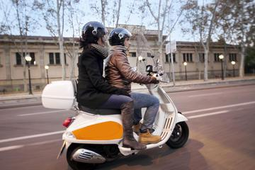 Small-Group Barcelona Night Tour By Vespa