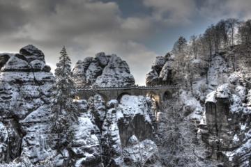 Bohemian And Saxon Switzerland Winter Tour from Prague