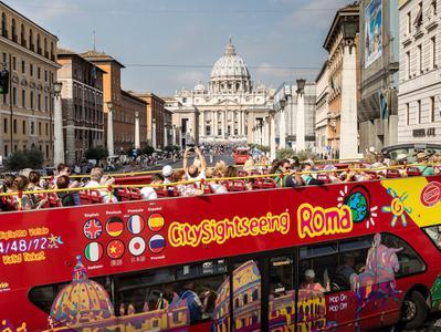 Rome Hop On Hop Off Tour