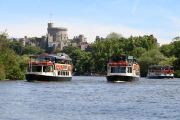 Scenic Thames Riverboat Return Journey from Windsor