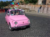 Rome Tour by Vintage Fiat 500