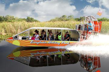 Everglades Airboat Tour and Gator Boys Alligator Rescue Show