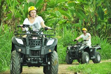 Full Day Bali Adventure Tour with Quad Bikes and Rafting