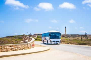 Aruba Island Sightseeing Tour Plus Arashi Beach Visit