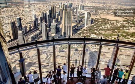 Burj Khalifa Tickets and Tour: Level 148 and 125