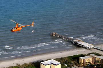 Cocoa Beach Pier Helicopter Tour from Port Canaveral